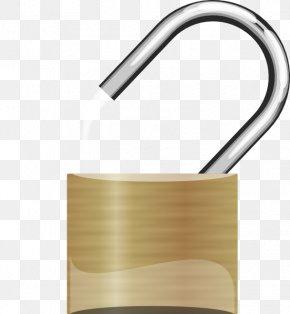 Unlocked Lock Cliparts - Padlock Key Clip Art PNG