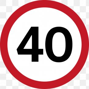 Road Sign - Traffic Signs Regulations And General Directions Speed Limit Road PNG