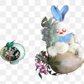 Easter Bunny - The Egg Tree Easter Bunny Christmas Ornament Easter Egg Tree PNG