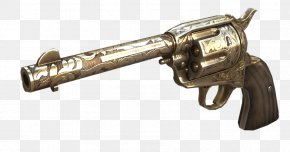 Weapon - Revolver CrossFire Colt Single Action Army Trigger Firearm PNG