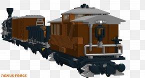 Through Train - Railroad Car Train Passenger Car Rail Transport Locomotive PNG