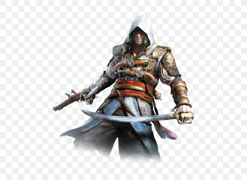 Assassin's Creed IV: Black Flag Assassin's Creed III Assassin's Creed Syndicate Ezio Auditore PlayStation 3, PNG, 500x600px, Assassin S Creed Iv Black Flag, Action Figure, Armour, Assassin S Creed, Assassin S Creed Iii Download Free