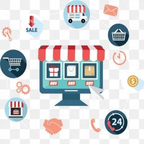 Business - E-commerce Web Development Drupal Commerce Business Digital Marketing PNG