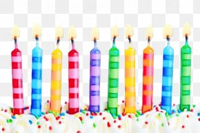 Colorfulness Birthday Candle - Birthday Candle PNG