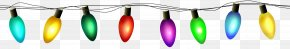 Christmas Lights Transparent Clip Art - Mixed Anxiety–depressive Disorder Christmas Lights Depression PNG