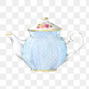 Rose Tea Teapot - Teapot Teacup Jug PNG