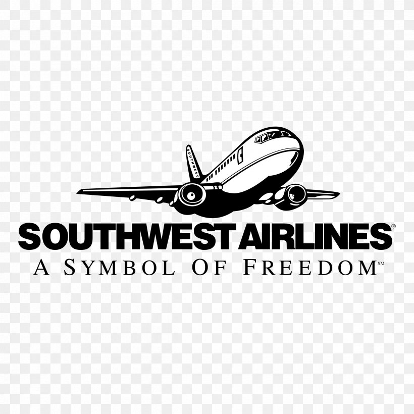 Logo Airplane Southwest Airlines Vector Graphics Png 2400x2400px