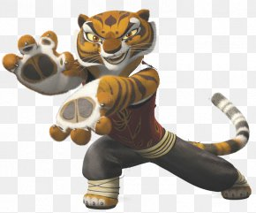 Kung Fu Panda Tiger - Tigress Po Tai Lung Oogway Giant Panda PNG