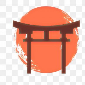 Table Place Of Worship - Orange PNG