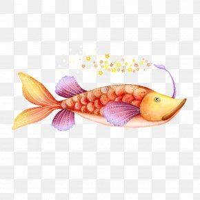 Fish - Grassland Illustration PNG
