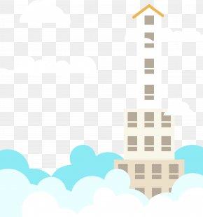 Houses - Taipei 101 Skyscraper Illustration PNG