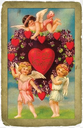 Valentine's Day Greeting Cards Tags - Victorian Era Valentine's Day Clip Art Women Lupercalia Clip Art PNG