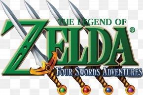 The Legend Of Zelda Logo Pic - The Legend Of Zelda: Four Swords Adventures The Legend Of Zelda: A Link To The Past And Four Swords Zelda II: The Adventure Of Link PNG
