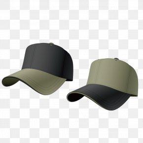 Men's Baseball Cap - Baseball Cap Hat Stock Illustration PNG