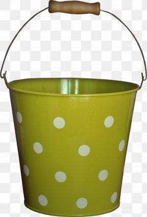 Green Bucket - Bucket Barrel Clip Art PNG