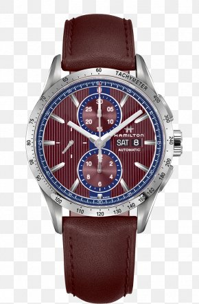 Watch - Hamilton Watch Company Chronograph Automatic Watch PNG