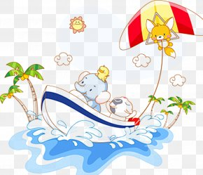 Offshore Boat - Happy Birthday To You Blessing Wish Clip Art PNG