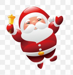 Red Santa Claus Cartoon - Mrs. Claus Santa Claus Christmas Gift Clip Art PNG