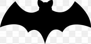 Bat - Bat Black And White Logo Brand PNG