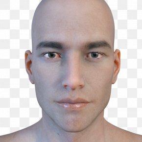 Smoky Makeup - Chin Cheek Forehead Eyebrow Jaw PNG