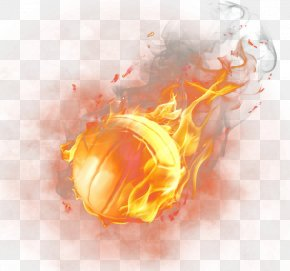 Fire Basketball - Light Basketball Fire PNG