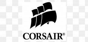 Corsair - Corsair Components Computer Memory Logo Nzxt RAM PNG