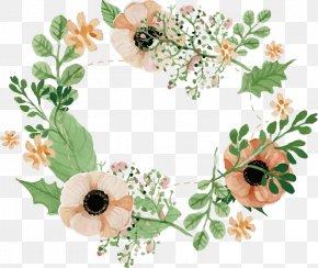 Vector Flower Border - Wedding Invitation Flower Floral Design PNG