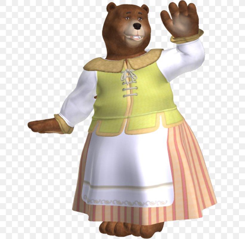 Goldilocks and the Three Bears Stick Puppets (teacher made)