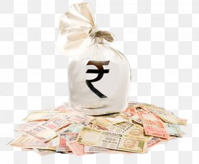 Money Bag - Indian Rupee Money Bag Clip Art PNG