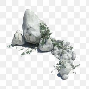 Gray Rocks - Rock 3D Modeling 3D Computer Graphics Autodesk 3ds Max Texture Mapping PNG
