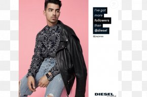 Model - Fashion Diesel Advertising Campaign Model PNG