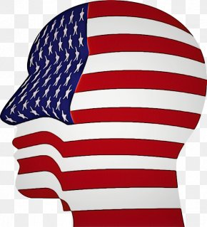 Flag Day Usa Costume Accessory - Flag Of The United States Flag Clip Art Headgear Cap PNG
