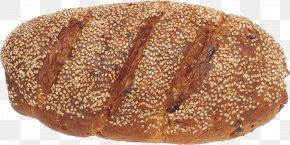 Bread Gray Image - Rye Bread Bakery Flour PNG