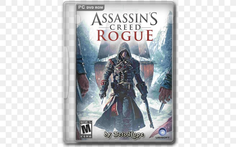 Assassin's Creed Rogue Assassin's Creed III Assassin's Creed: Origins Assassin's Creed Unity, PNG, 512x512px, Video Game, Action Figure, Film, Pc Game, Playstation 3 Download Free