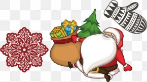 Santa Claus Christmas Spree - Santa Claus Christmas Drawing Animation PNG