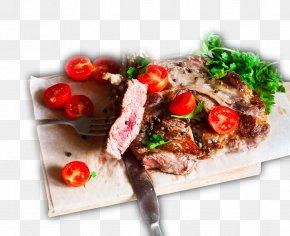 Barbecue Grill Gourmet Food - Kebab Barbecue Steak Food PNG