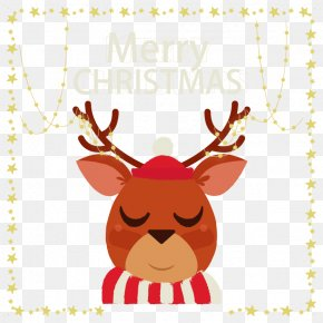 Cute Christmas Reindeer - Santa Clauss Reindeer Rudolph Santa Clauss Reindeer PNG