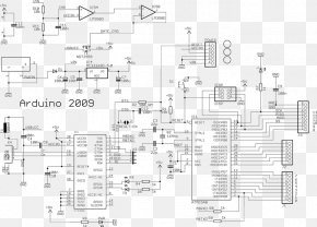 Atmel Avr - Arduino Electronic Circuit Wiring Diagram Schematic Circuit Diagram PNG