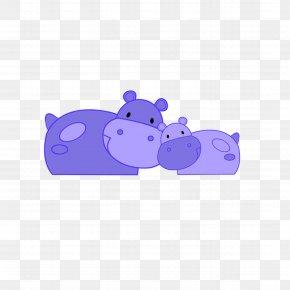 Cartoon Rhino - Cartoon Drawing PNG