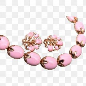 Necklace - Earring Bead Bracelet Necklace Gemstone PNG