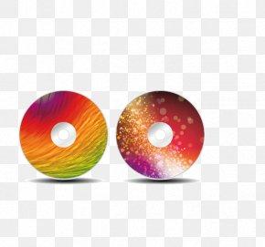 CD Cover Vector Material - Sphere Orange Shutterstock PNG