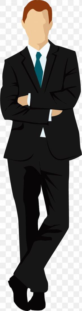 Black Suit - Tuxedo Suit Download PNG