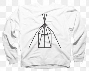 T-shirt - T-shirt Hoodie Crew Neck Bluza PNG
