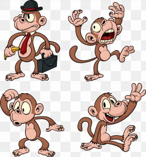 Monkey - Ape The Evil Monkey Gorilla Chimpanzee PNG