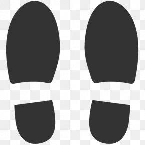 Symbols Shoe - Climbing Shoe High-heeled Footwear Footprint PNG
