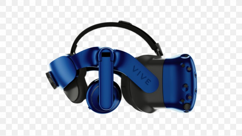 HTC Vive Virtual Reality Headset Head-mounted Display The International Consumer Electronics Show Oculus Rift, PNG, 1200x675px, Htc Vive, Audio, Audio Equipment, Blue, Display Resolution Download Free