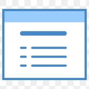 Circulm Vita - Font Table Of Contents PNG