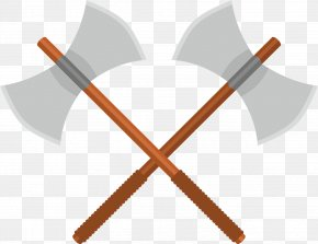 Medieval - Battle Axe Weapon PNG