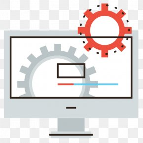 Technology Computer Monitor Accessory - Computer Monitor Accessory Line Technology PNG
