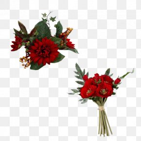 Beautiful Bouquet Of Flowers - Poppy Flower Red Plant PNG